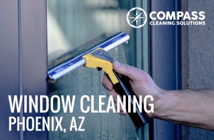 Commercail Window Cleaning in Phoenix, AZ