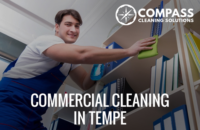 Commercial cleaning in Tempe, AZ