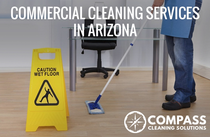 Commercial cleaning services in Arizona
