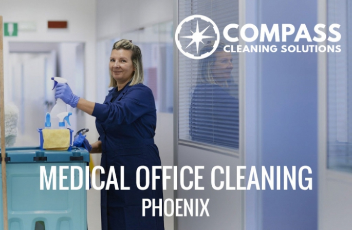 Medical office cleaning in Phoenix, AZ