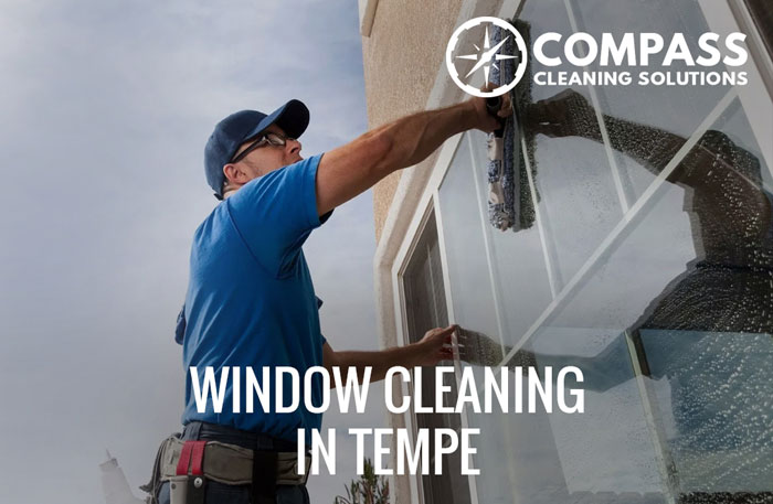 Commercial windo cleaning
